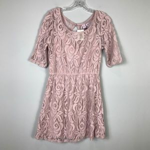 Love on a Hanger Lace Dress; NWT
